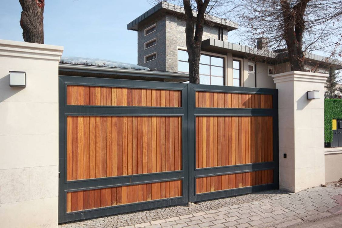 Wood and Steel Automatic Gate Systems